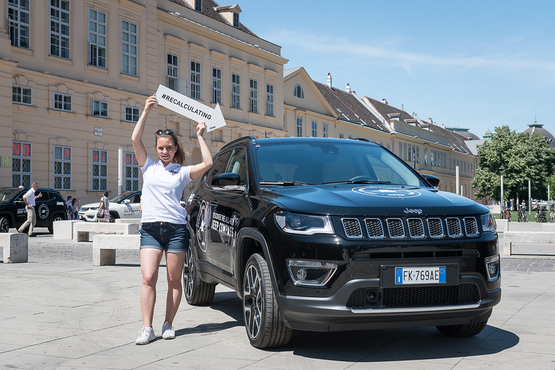 """Jeep Austria presents the new """"Compass"""" model at the Museumsquartier"""