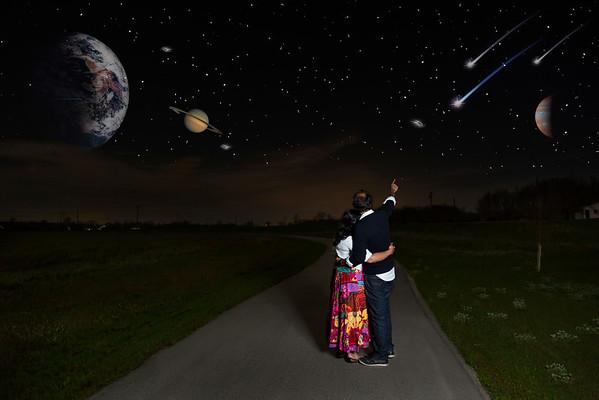 Couple Shoot - Galaxy Shot