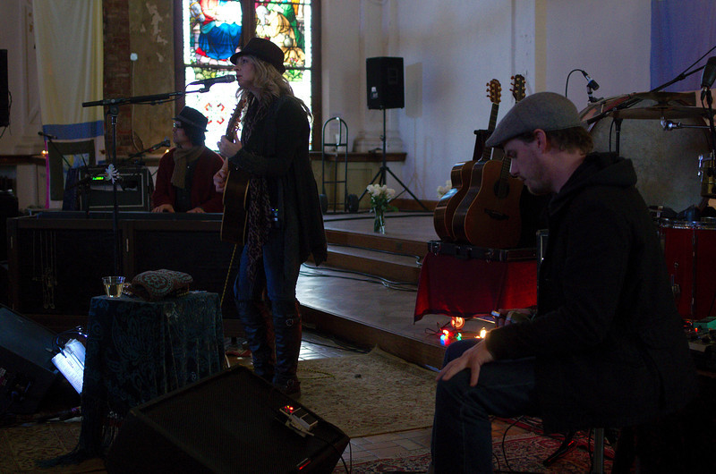 Jason Goforth on harmonica and lap steel.
