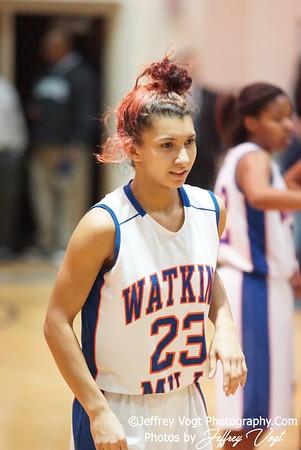 02-10-2012 Watkins Mill HS vs Clarksburg HS Varsity Girls Basketball, Photos by Jeffrey Vogt Photography