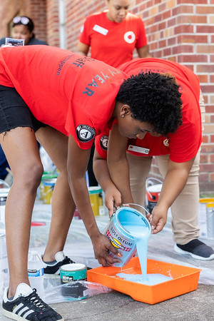 Red Jacket Weekend Family & Friends Day of Service 2019 - City Year Baton Rouge