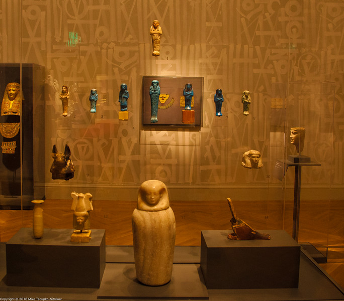 The Mummues Exhibition at the Legion of Honor