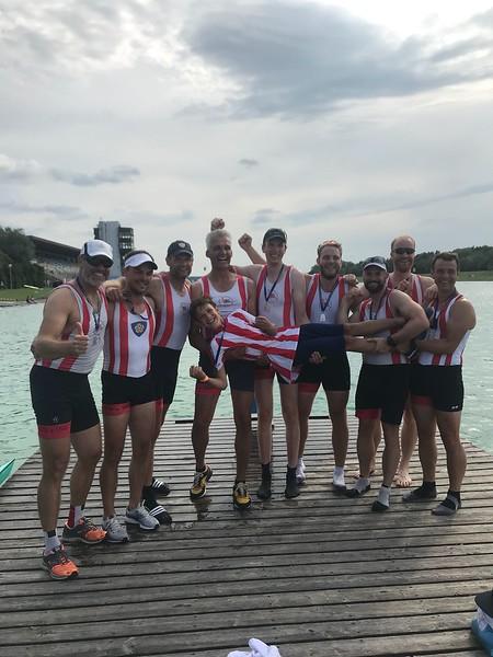 2018-7 Euro Masters Regatta