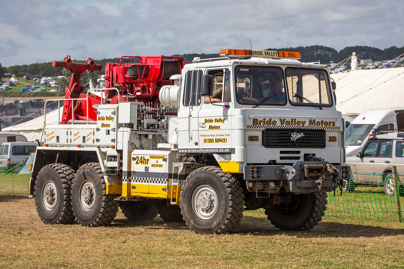 Foden;recovery vehicle