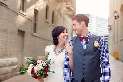 Karen & Eric {wedding day}