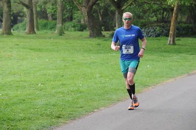 Southampton Marathon First lap  7.5 miles - 22/4/17