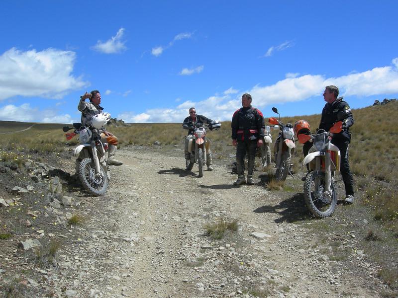 Mt Buster January 2013 Knuddy, Tim, Malcolm, Craig.JPG