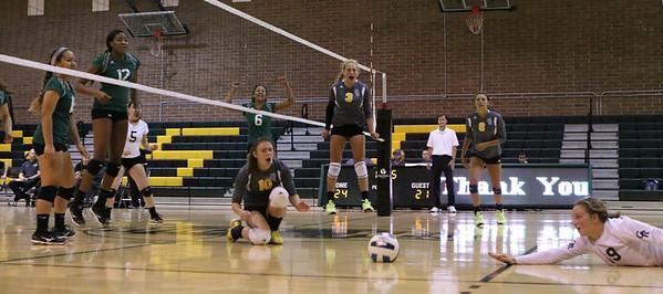 2015 SCC Volleyball vs Grand Rapids Community College