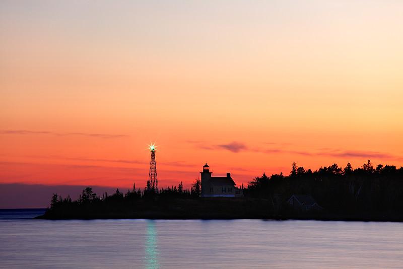 Bounded Light - Copper Harbor Lighthouse (Copper Harbor, MI)