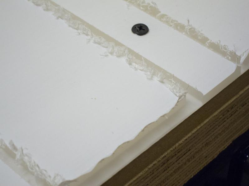 Machining side panels in Satin Ice acrylic