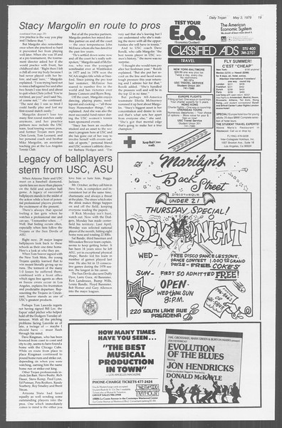 Daily Trojan, Vol. 76, No. 52, May 03, 1979
