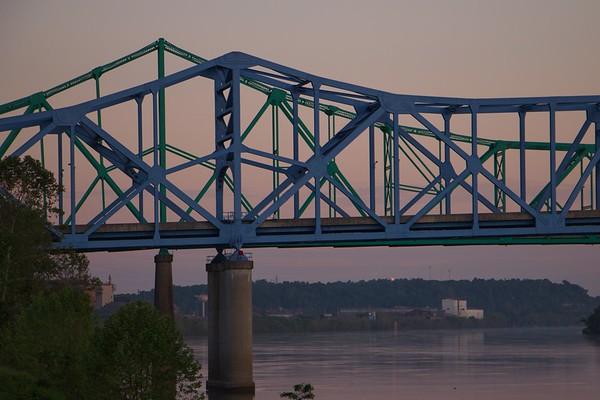 Ashland Bridges in Morning