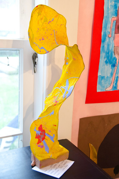 WCSU Student Art Show at Purple Crayon