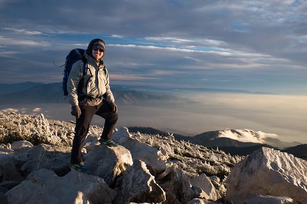 2017.11.18 Mt. San Gorgonio - Solo Summit
