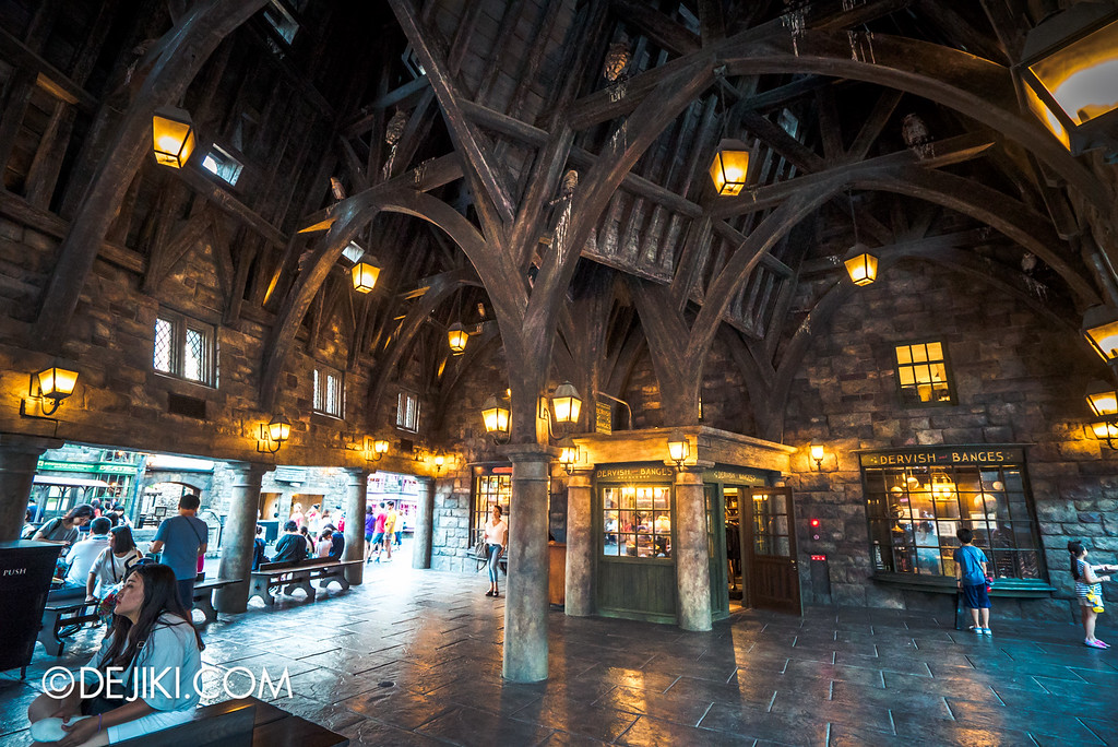 Universal Studios Japan - The Wizarding World of Harry Potter - Owlery overview