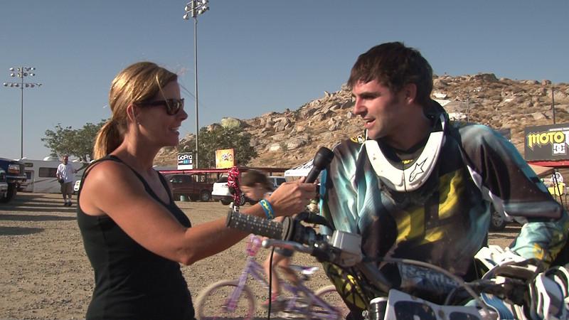 Jason Mcguidwin Moto #1 Winner 450cc Inter Cls #3 2011 Hot Summer Nights Perris Raceway.MTS