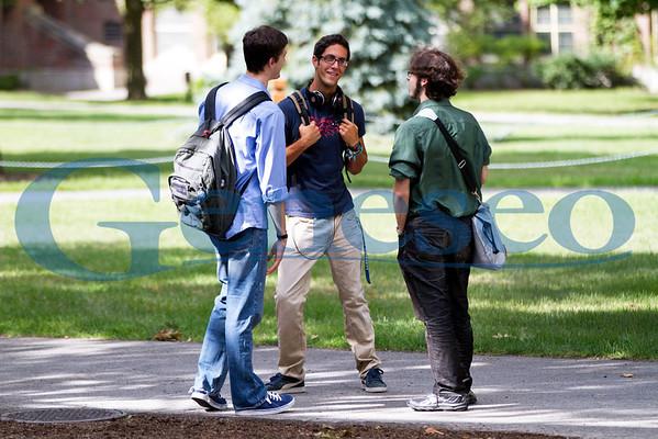 Students Outside - Fall