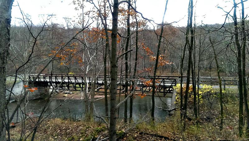 Red Mill Bridge over North Branch of Blacklick Creek