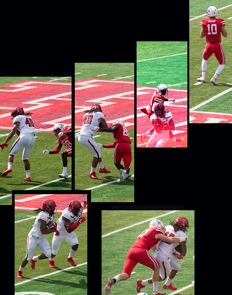 UH's Allen's pass is intercepted by Tech's Allen ...