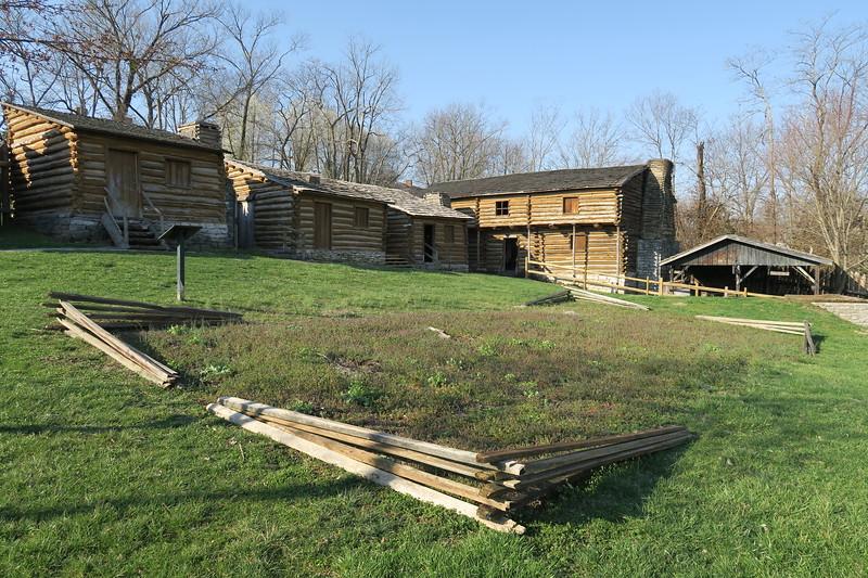 Old Fort Harrod State Park, KY (3-4-17)