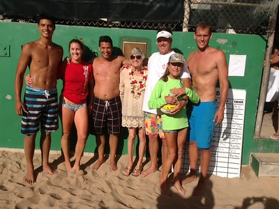 20th Annual Daddy Haine Volleyball Tournament 8-10-2013