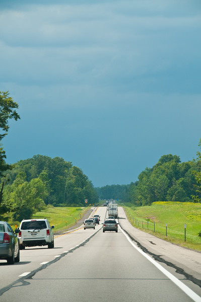 Lots of long, not so superhighway roads to travel.