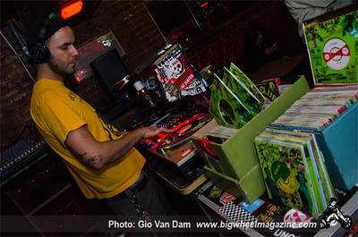 The Lions - DJ Boss Harmony - at La Cita - Los Angeles, CA - February 6, 2014