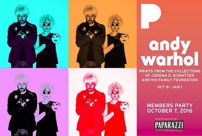PAM MEMBERS PARTY WARHOL COLOR QUADS