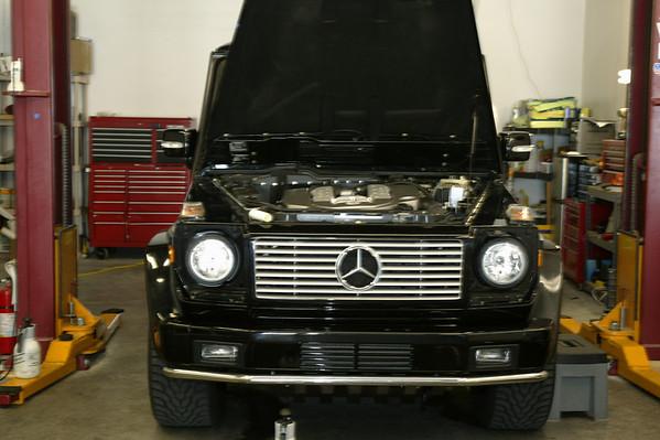 05 Mercedes Benz G55 AMG