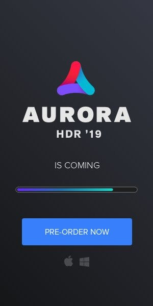 Pre-order Aurora HDR 2019 now