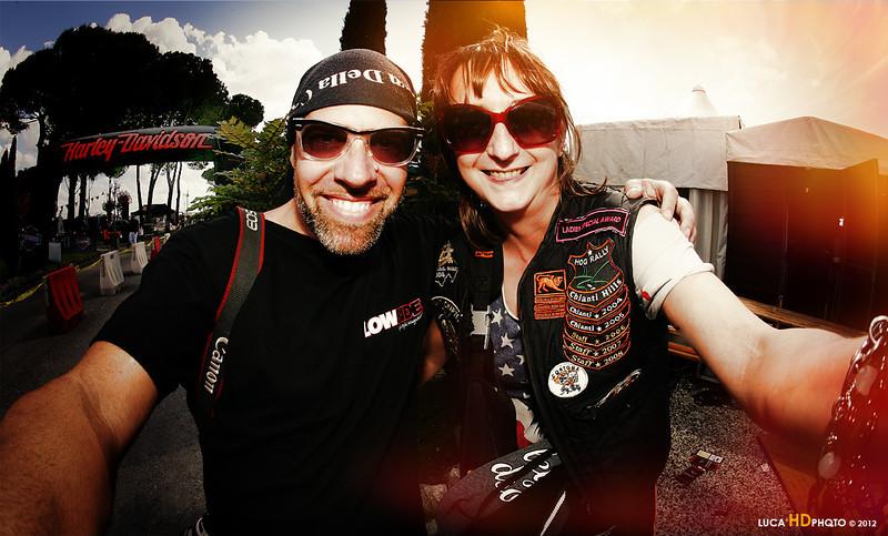 Me and Serena, Tuscany Rally 05/2012