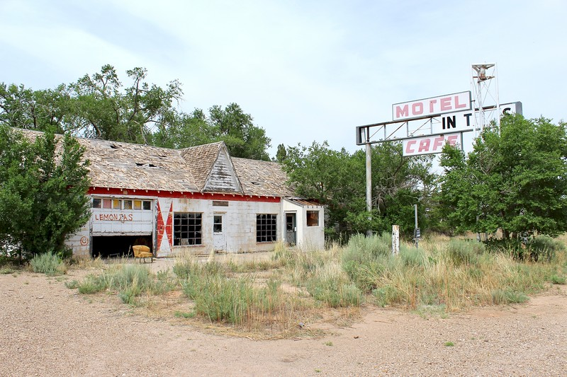 Texas Longhorn Motel, Cafe, and Phillips 66 station (2018)