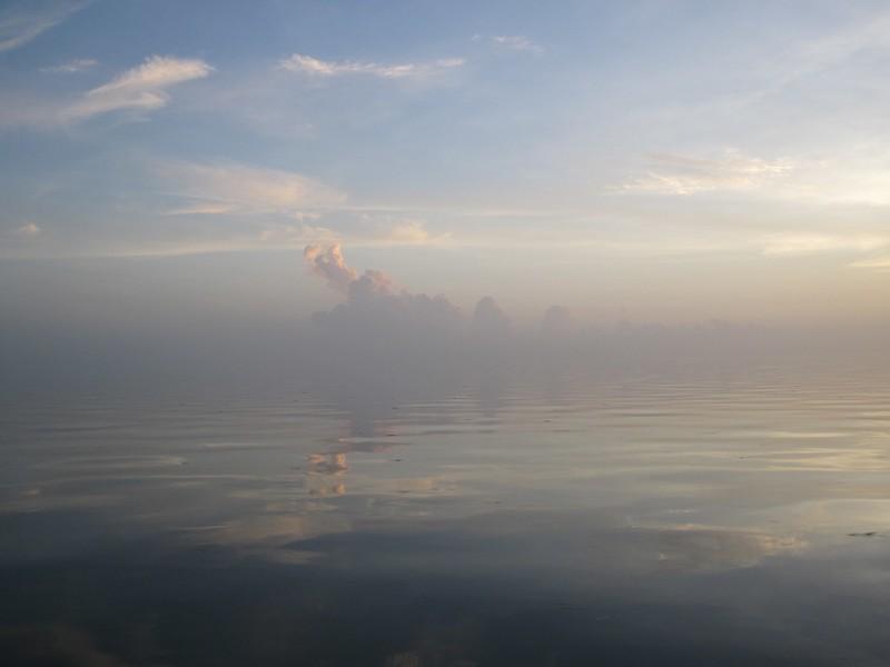 glassy flat florida bay
