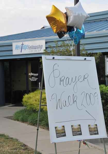Community Prayer Walk -- 2009