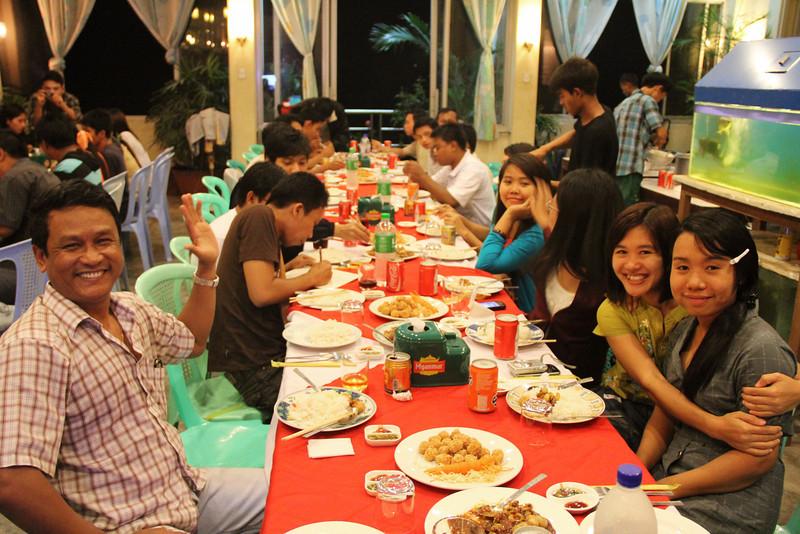 laputta staff dinner