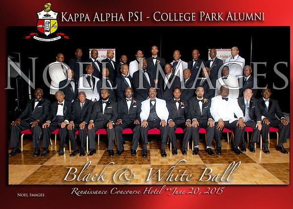 2015 Kappa Alph Psi - College Park Alumni Chapter (CPAC) Black & White Ball