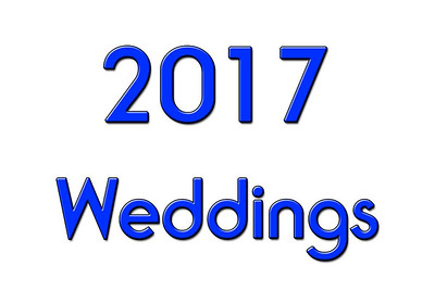 WEDDINGS 2017
