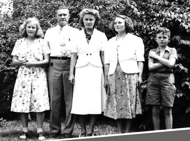 Lee, Floyd, Virginia, Margaret, and David