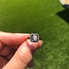 .53ctw Rose Cut Halo Ring, by Single Stone 52