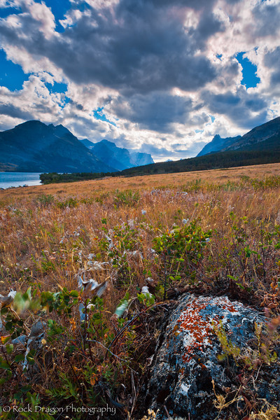 Two Dog Flats in Glacier National Park, Montana.