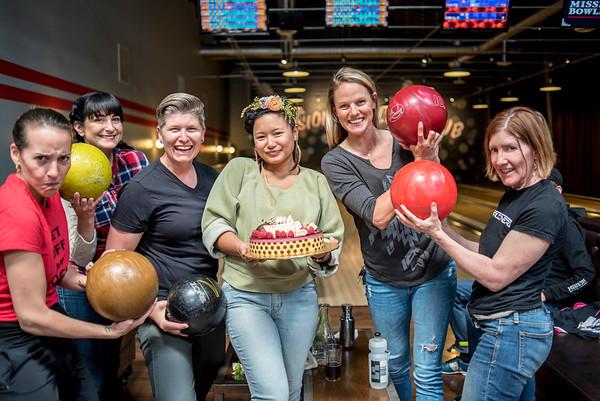 Melanie's Bowling Birthday