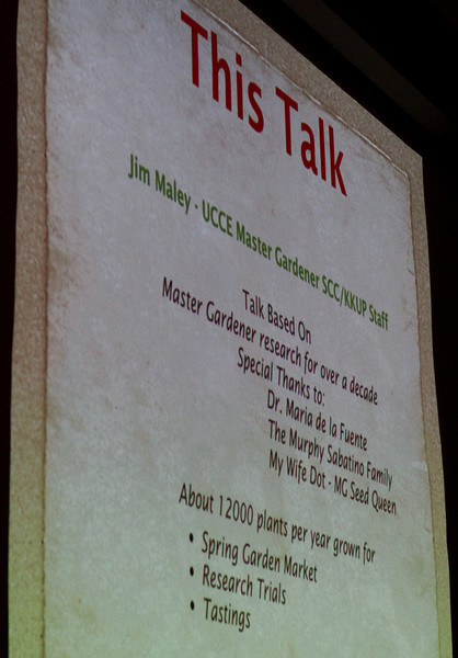 Jim's talk introduction