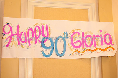 Gloria's 90th Birthday