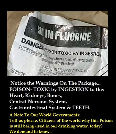 FLUORIDE – KILLING ME SOFTLY