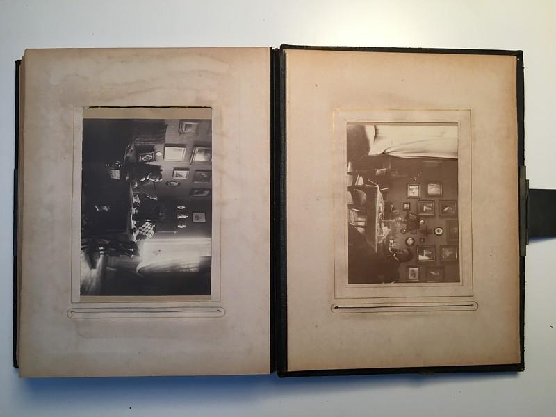 Johanne Hedemanns Album side 20 billede nr. 122 - 123