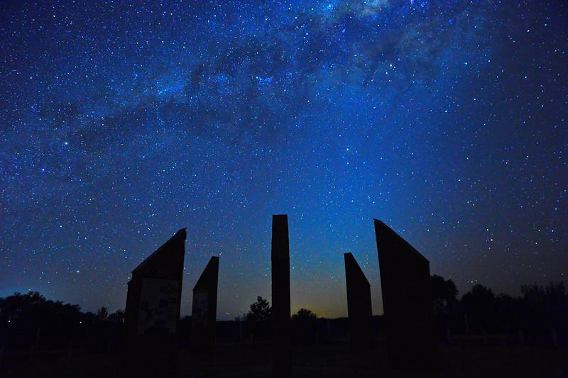 Milky Way over Calperum