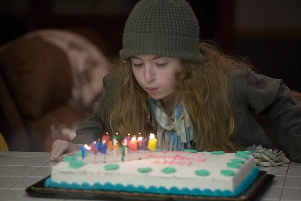 Sarah's 16th Birthday