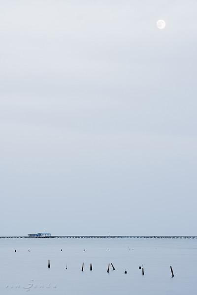 Blue dock III