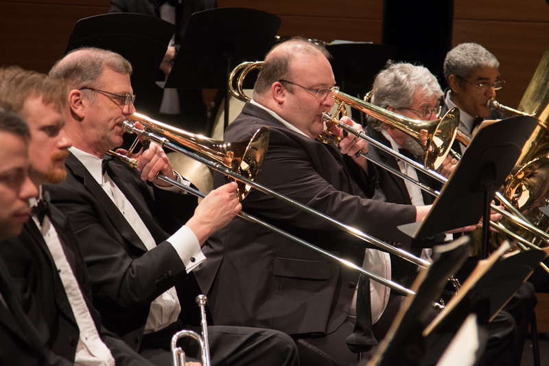 Symphony of the Potomac at the Cultural Arts Center, Silver Spring, MD, February 2018.