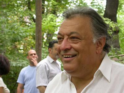 Mit Zubin Mehta im Biergarten, 31. Juli 2006 Bayerisches Staatsorchester